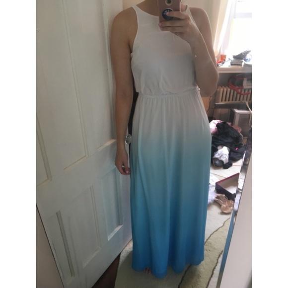 Lc Lauren Conrad Dresses Lauren Conrad Blue Ombre Maxi Dress